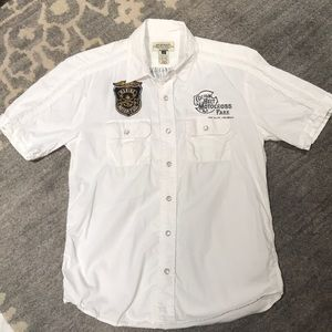 American Rag button up short sleeve